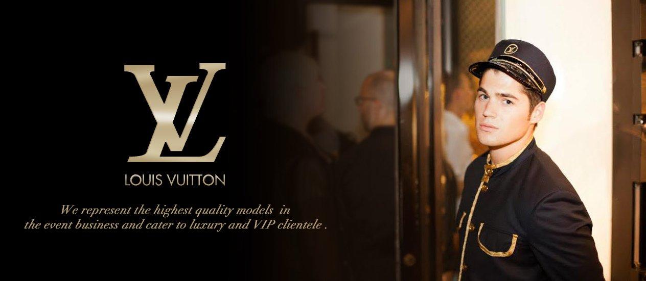Louis Vuitton, Model doorman, Doorman, NY doorman, Matrix Model Staffing, Matrix Model Staffing Louis Vuitton
