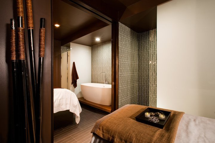 Setai Spa Wall Street amenities