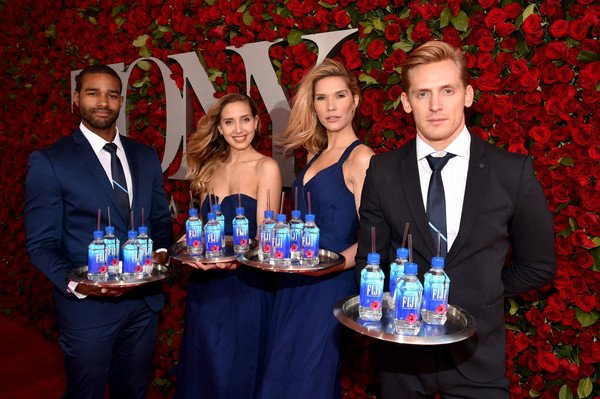 Model staff, Fiji water, tony awards