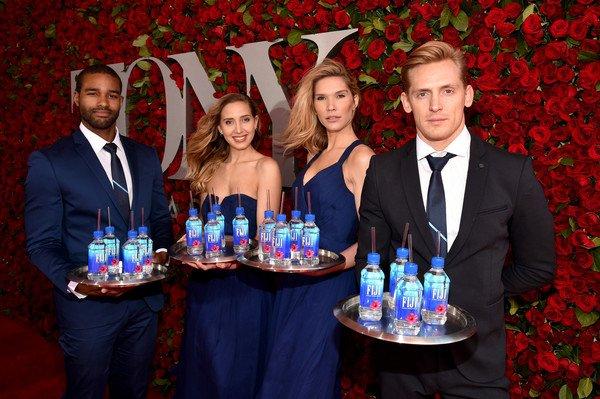 Model staff, Fiji water, tony awards