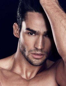 Promotional male model, male model no shirt