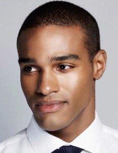 handsome male model, black male model