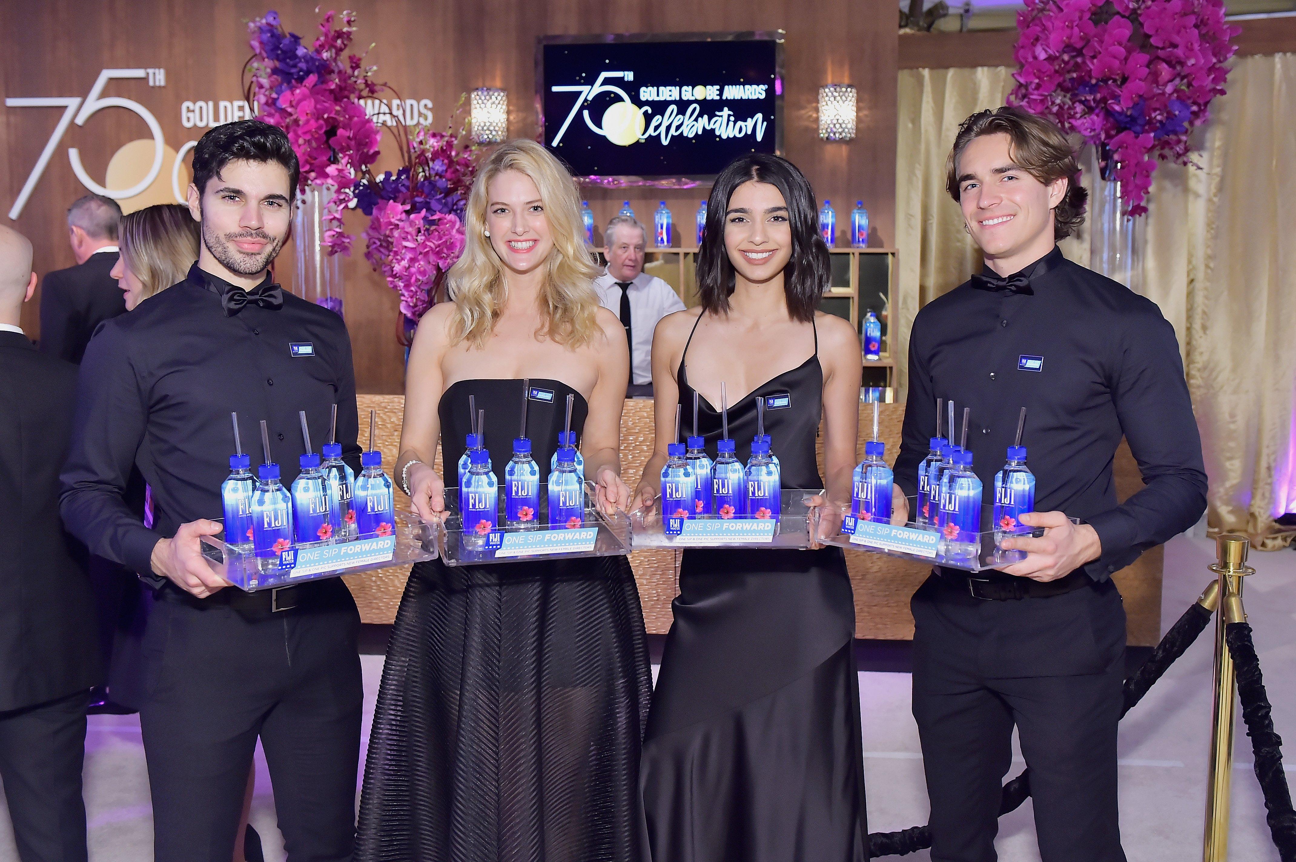 Golden globes 2018, model staffing, model staffers