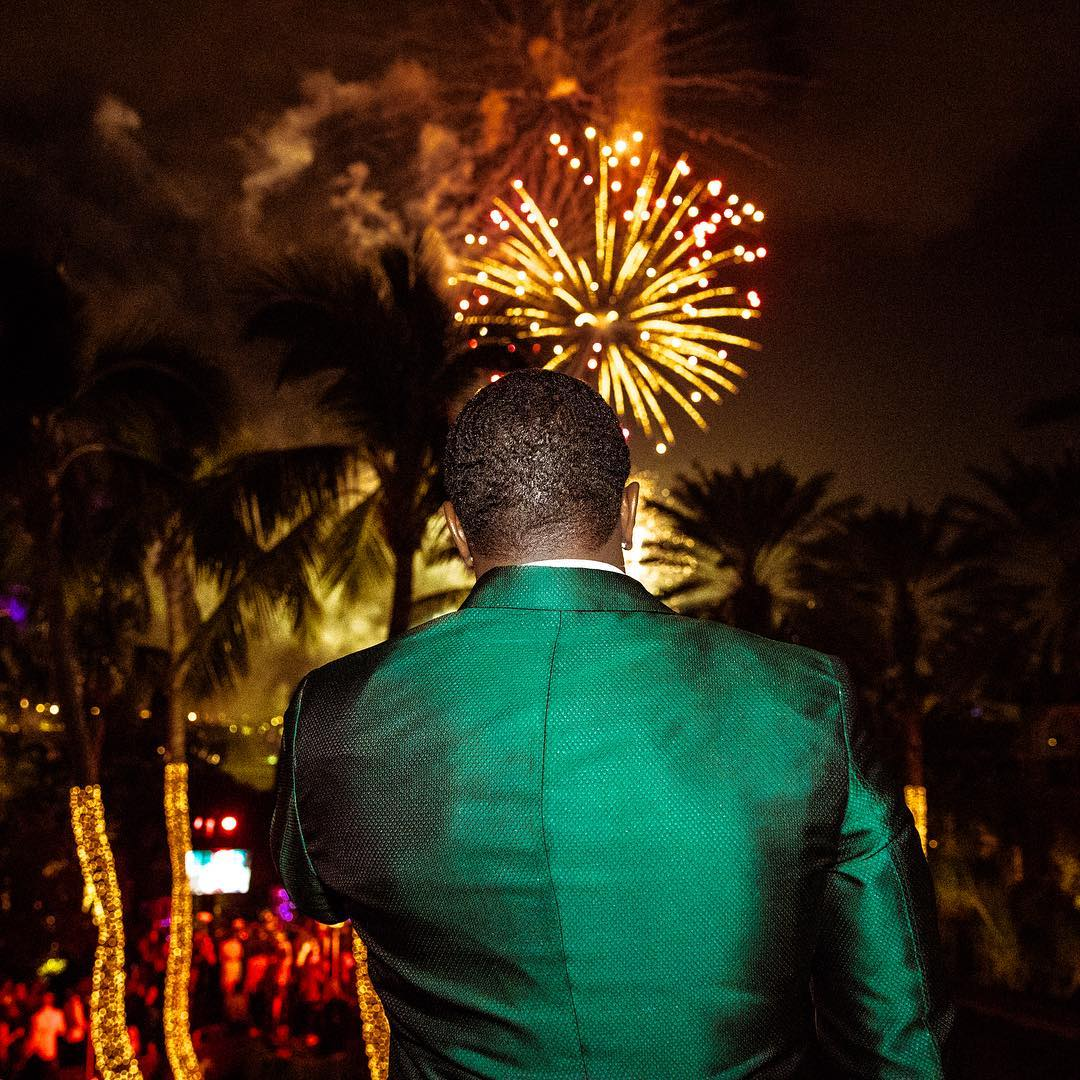 Diddy, ciroc new Year's Eve Party 2018, Diddy new Year's Eve Party 2018